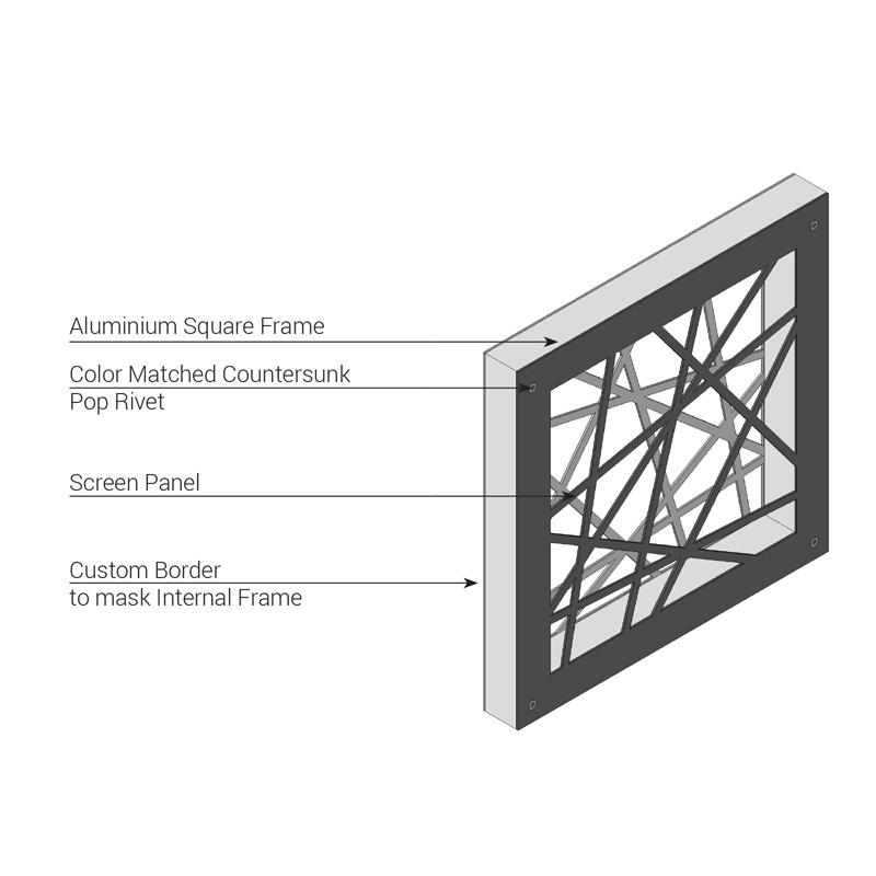 Lasercut Screen Materials