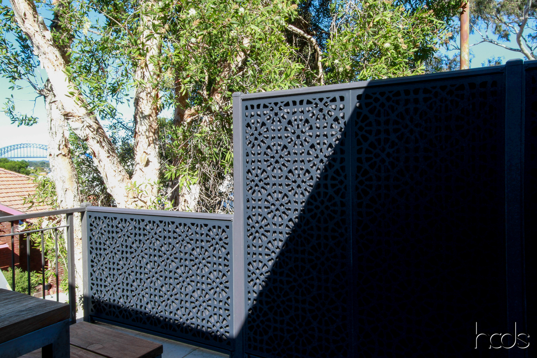 Introducing hcds outdoor privacy screens bookmarc online for Small outdoor privacy screen