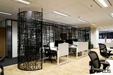 Curved Laser Cut Screens